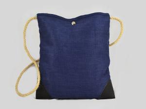 Jeansbeutel Blau