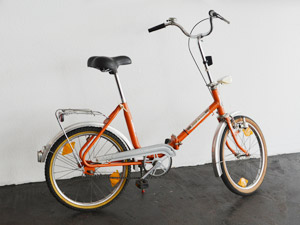 Klapprad fahrrad orange wedderbruuk for Second hand schlafsofa