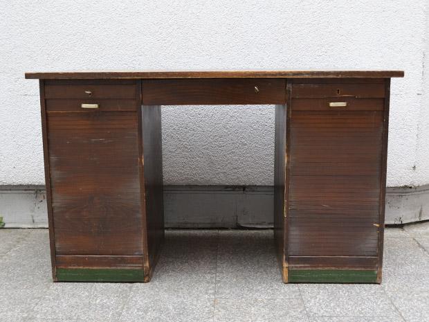 Schreibtisch Rolladen