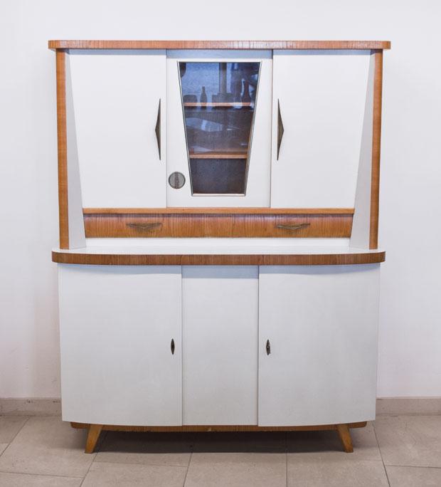 vintage k chenschrank k chenbuffet wedderbruuk. Black Bedroom Furniture Sets. Home Design Ideas