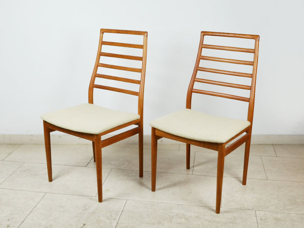 6 Teak Stühle / Dining Chairs