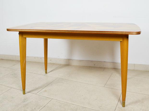 Tisch Musterfurnier