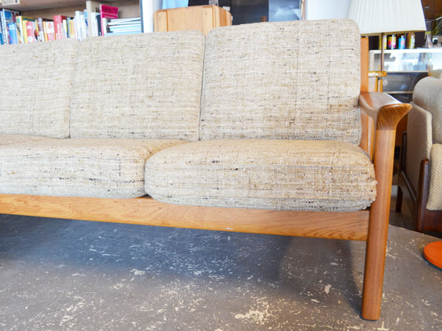 JK Denmark – Juul Kristensen – Sofa / Sessel – Teak Danish Design