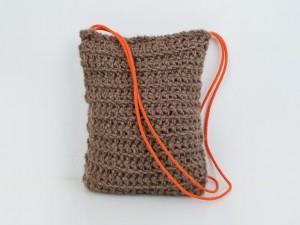 Tasche Strick / Taupe