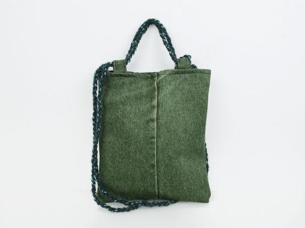 Kleine Tasche Jeans / Grün