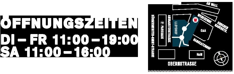 Kontakt / Öffnungszeiten