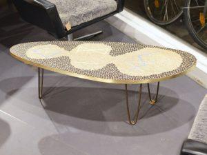 Dreibein Tisch / Mosaik