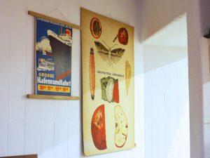 "Lehrkarte 5 & Plakat ""Grosse Hafenrundfahrt"" Martinianleger"