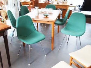 Stuhlset / 6x Wire Chair von Charles & Ray Eames