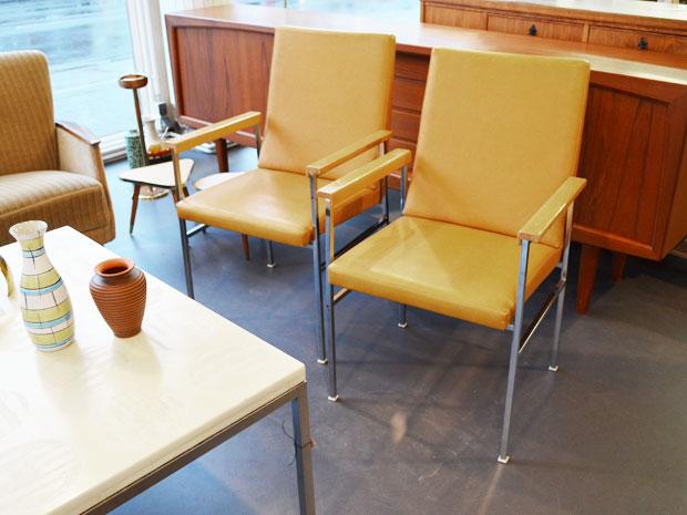 Vintage möbel interieur