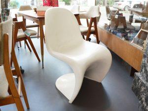 Panton Chair / Verner Panton für Fehlbaum 1971 / Weiß
