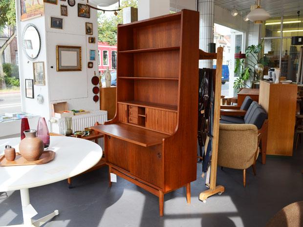 Teaksekretär /Johannes Sorth für BM Bornholms Möbelfabrik