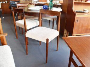 Vierer-Set Stühle / Palisander