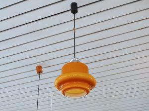Deckenlampe / Überfangglas