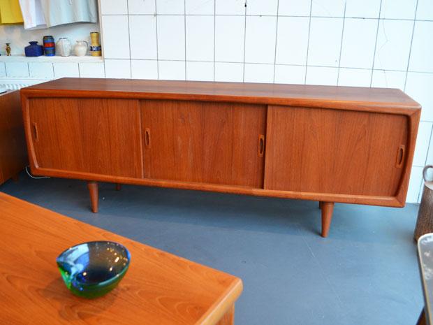Teakholz Sideboard / H. P. Hansen / Dänemark 1960er