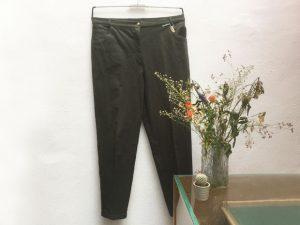 Dunkelgrüne Jeans
