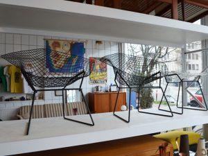 Stühle von Harry Bertoia