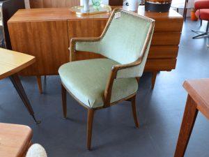 Zweier-Set hellgrüne Stühle / Sessel