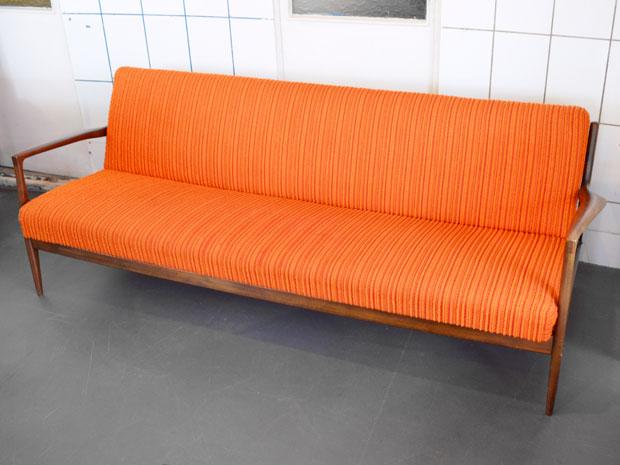 Schlafsofa orange
