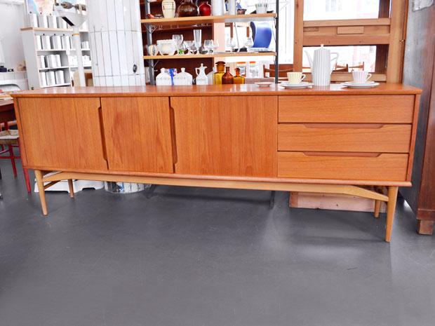 Sideboard Teak & Buche, Model Fredericia