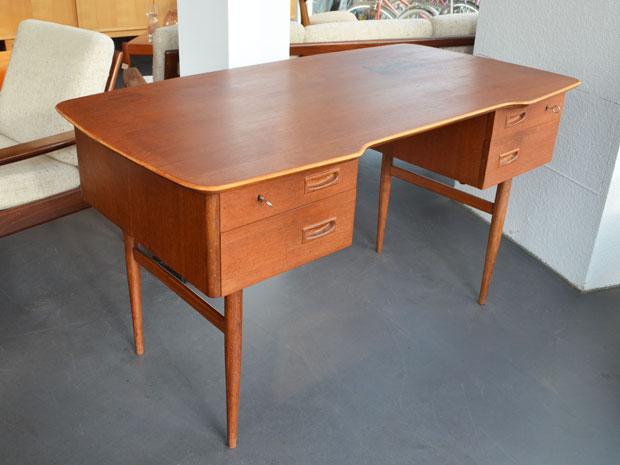 Schreibtisch Teak / 50er