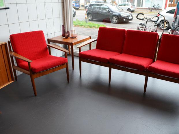 Couchgarnitur / Arne Vodder für Glostrup