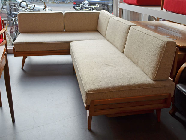 Wilhelm Knoll / L-Sofa / doppeltes Daybed