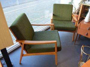 Zwei Sessel Buche