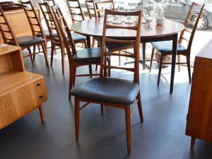 10er Set Teak Stühle von Niels Koefoed für Koefoeds Hornslet, DK