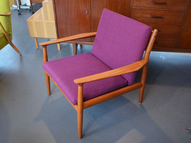 Teak Sessel von Grete Jalk für Glostrup, DK