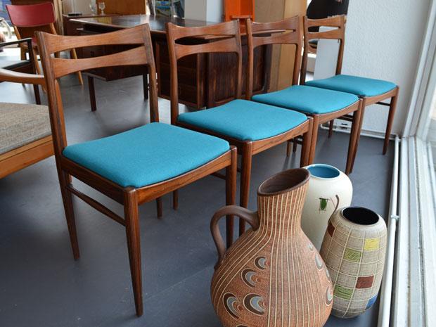 Lübke Stühle / neu bezogen