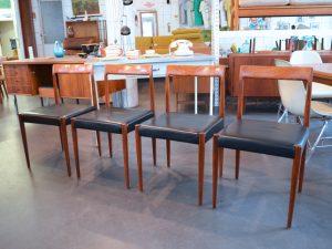 Vier Lübke Stühle / Setpreis: 360 €