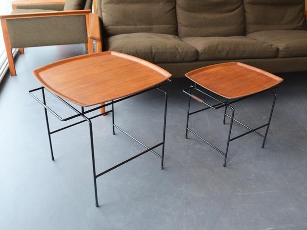 Zwei Tischchen von Paul Nagel & ARY Sweden / Preis: 70 € pro Stück