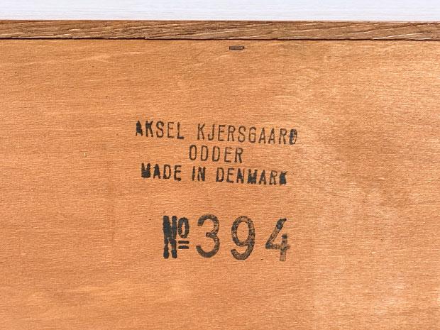 Teak Sideboard / Lowboard No. 394 von Kai Kristiansen für Axel Kjersgaard, Odder