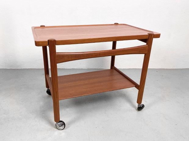 Teak Servierwagen / Trolley – Hans J. Wegner für Andreas Tuck / Tuck Furniture