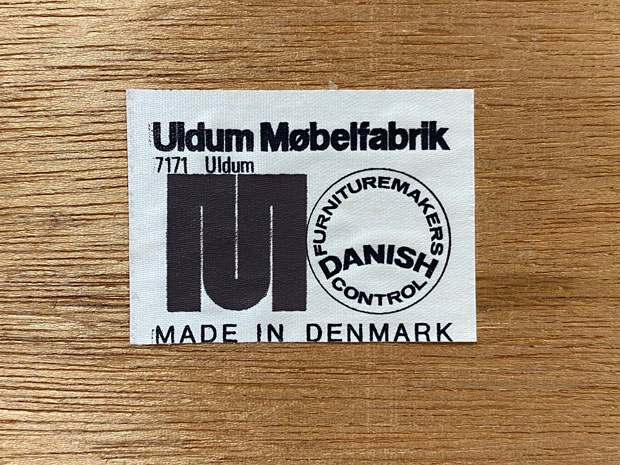 4er Set Teak Dining Chairs / Johannes Andersen für Uldum Møbelfabrik